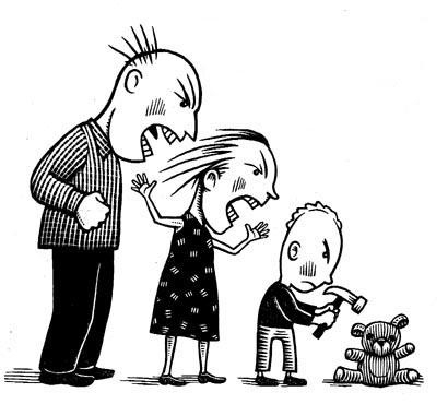 family-violence-illustration